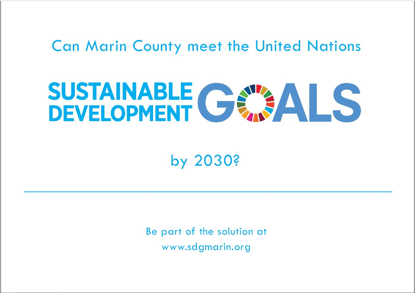 Post Card Image for SDGMarin.org